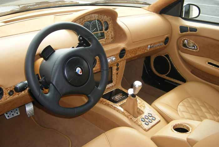 Panoz LLC esperante covertible interior