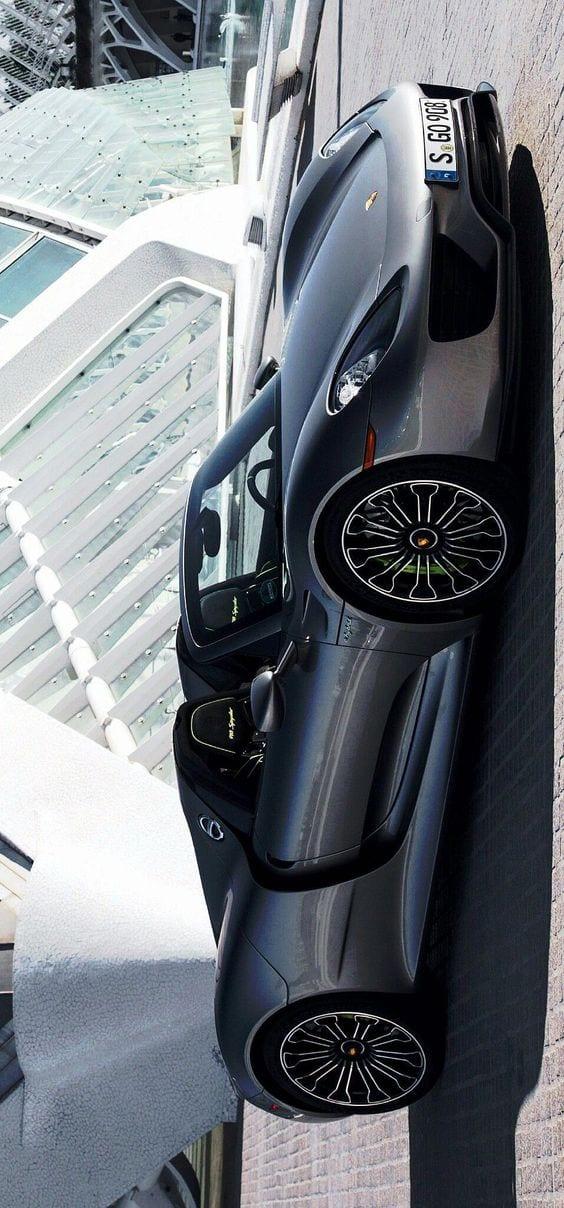 Porsche 918 spyder GREY MATTE
