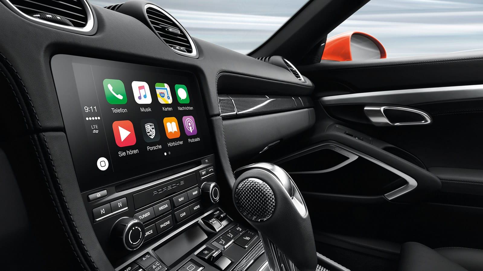 Porsche Navigation Interior