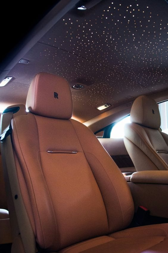 ROLLS ROYCE STAR INTERIOR