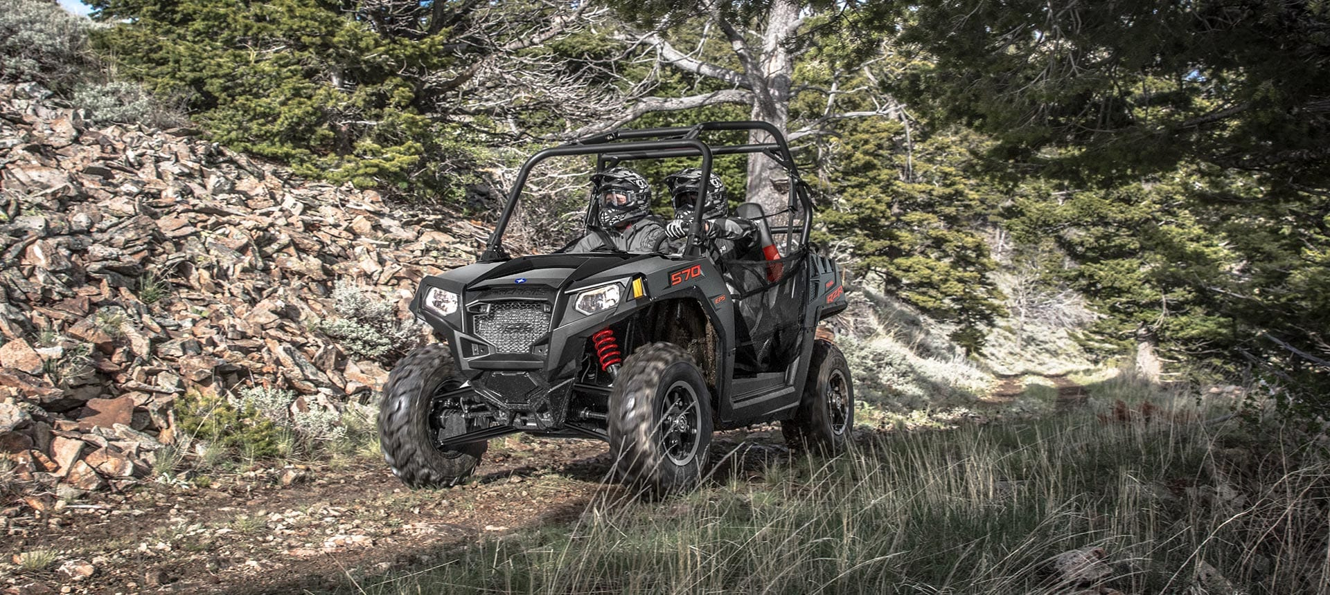 RZR 570 OFFROADING CAR