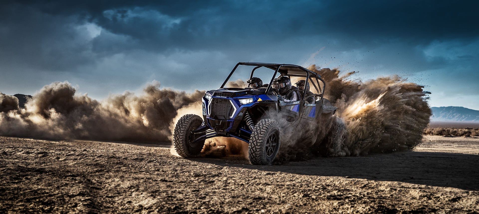 RZR XP 4 TOURBO S 4 SEATER OFFROAD VEHICLE