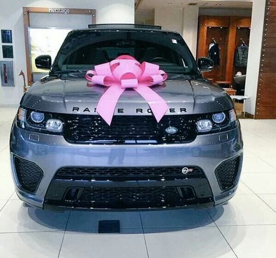 Range rover with bow