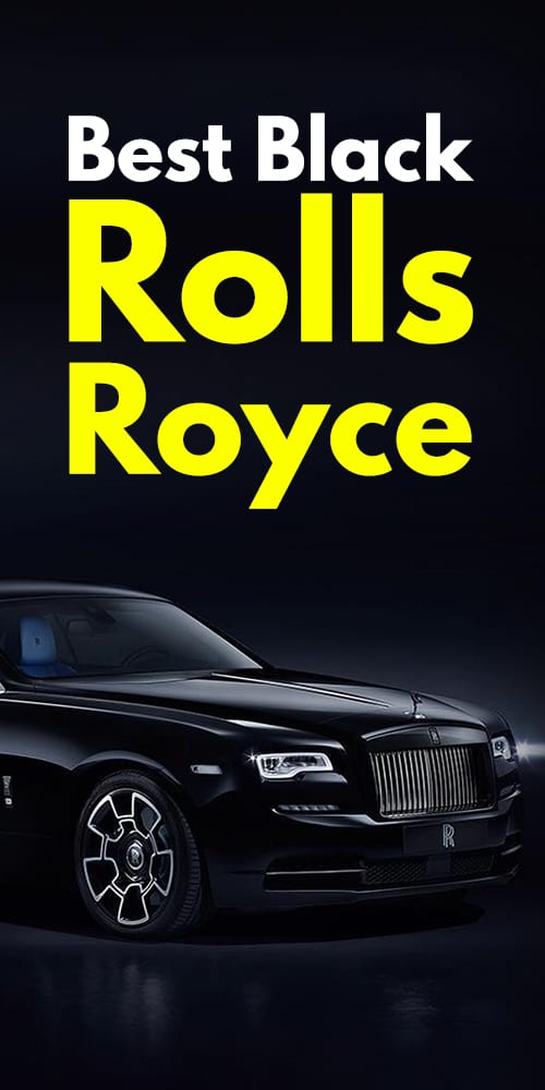 Stunning Black Rolls Royce Photos You Will Fall In Love