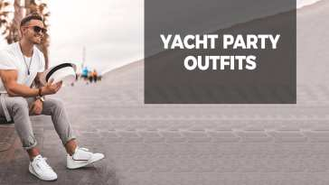 White t-shirt and fedora to wear at yacht party