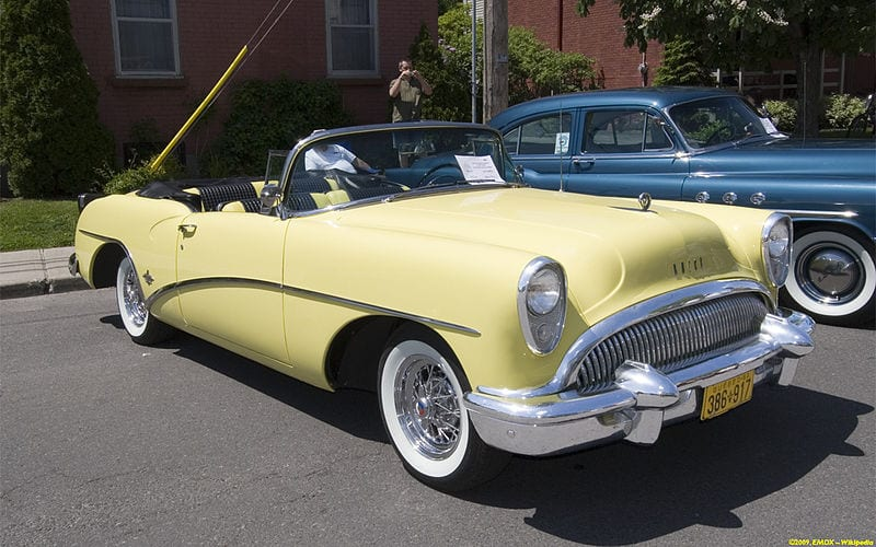 Yellow Buick Skylark