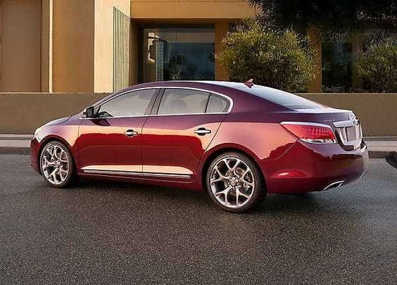 BUICK LACROSSE RED