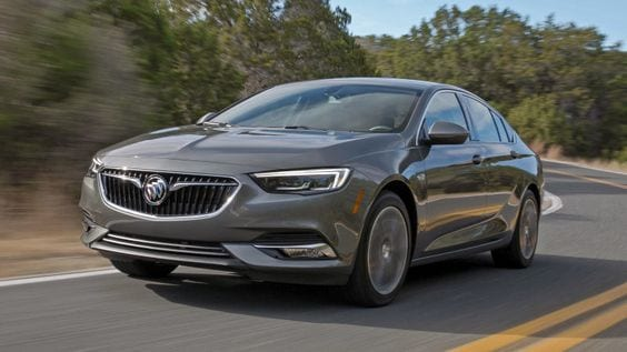 BUICK REGAL SPORTS BACK