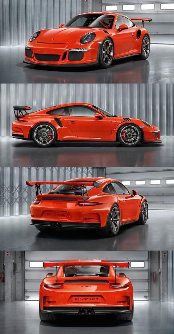 PORSCHE 911 GT3 RS ORANGE