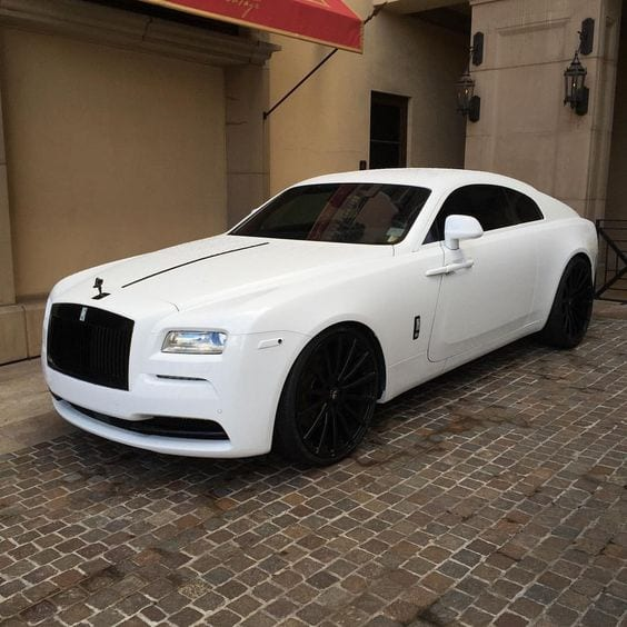 ROLLS ROYCE ALL WHITE