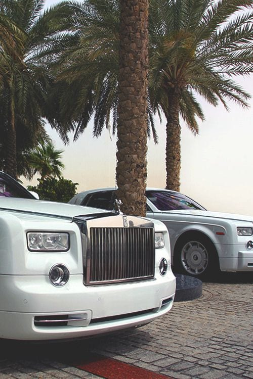 ROLLS ROYCE LUXURY WHITE WALLPAPER