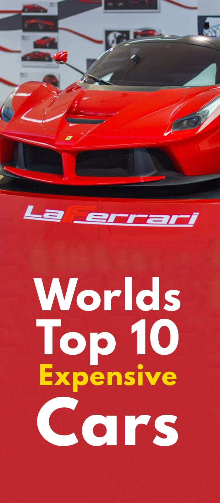 WORLDS TOP 10 EXPENSIVE CAR