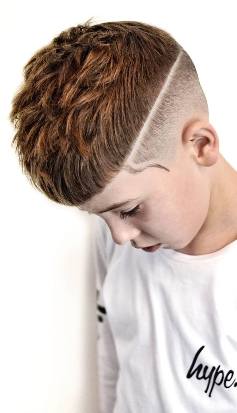 Skinfade Haircut Styles for Kids
