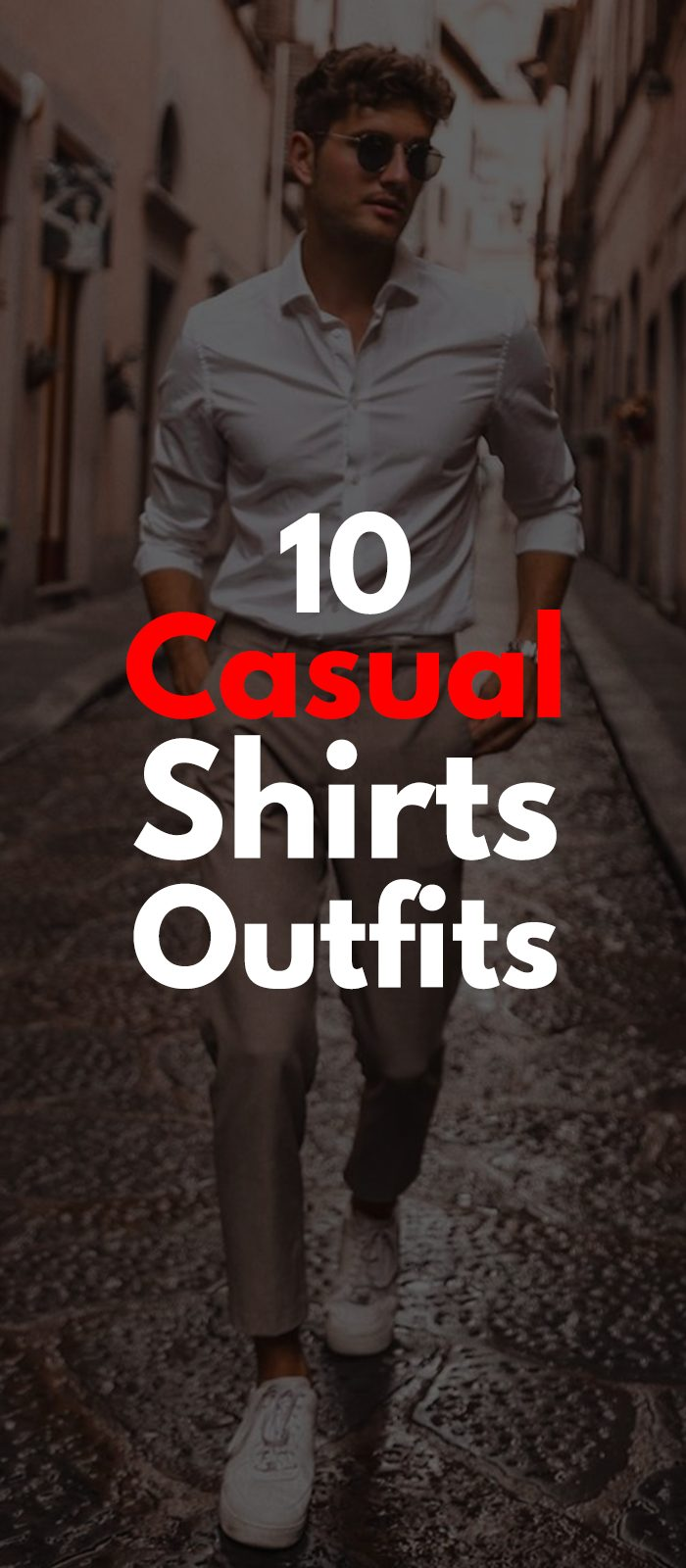 Vintage White Shirt Outfit for Casual Look