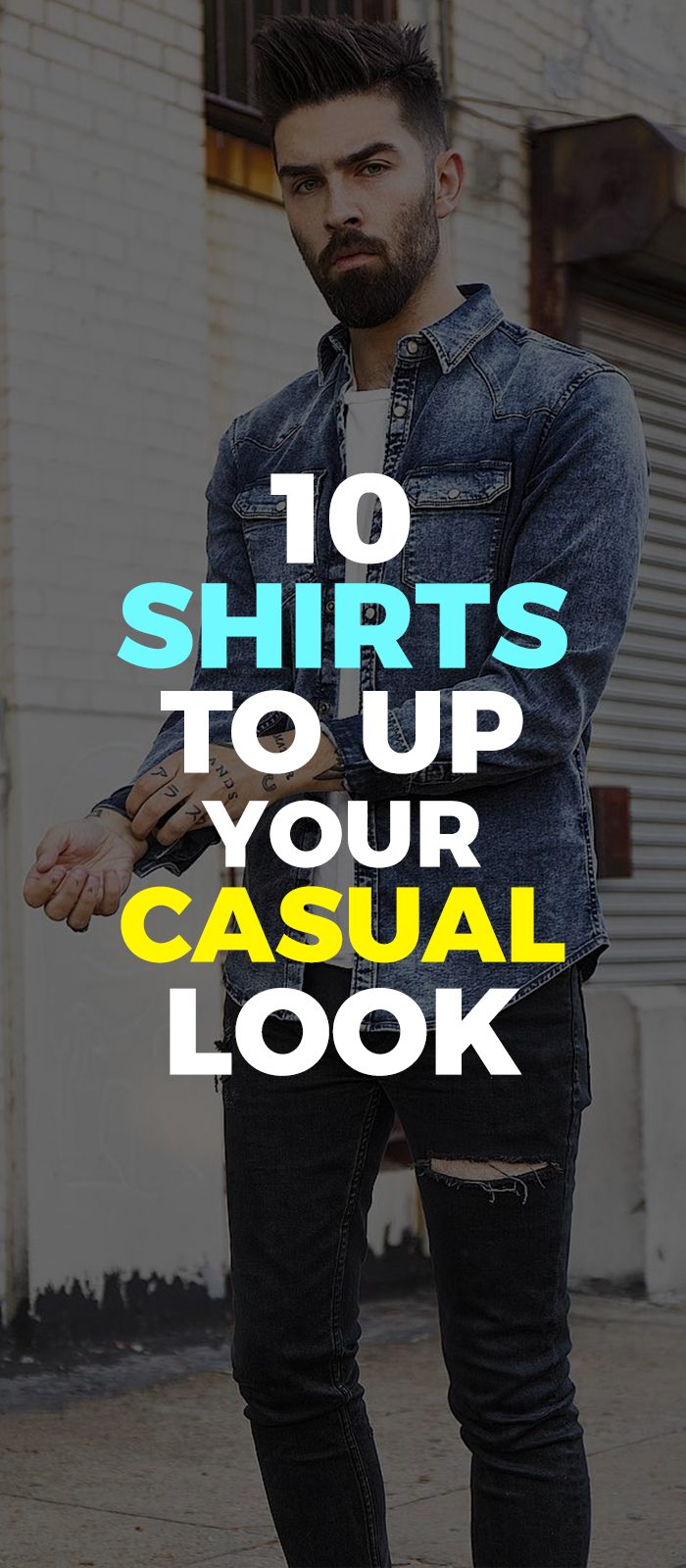 10 Casual Shirt Outfits for men