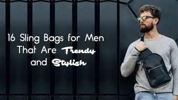 16 Trendy and Stylish Sling Bags for Men