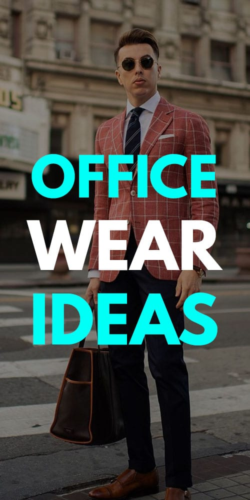 Office Wear Outfit Ideas for Men