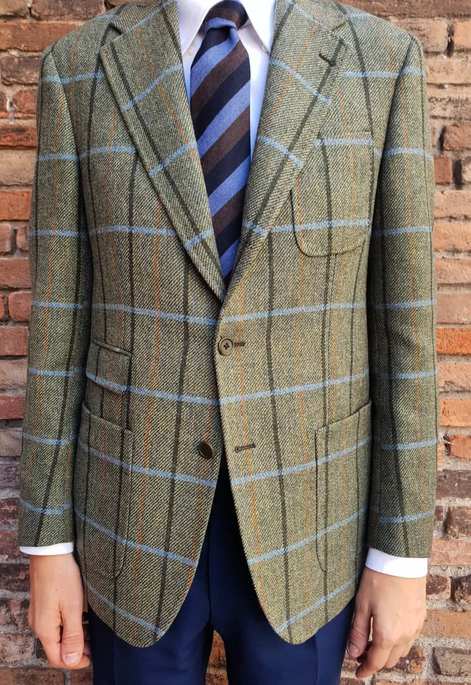 Tweed Jacket Outfit for Men 2019