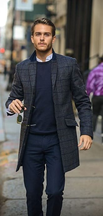 Long Blazer Outfit for men