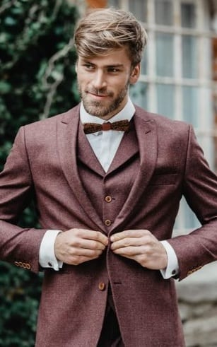 Tweed Suits for wedding