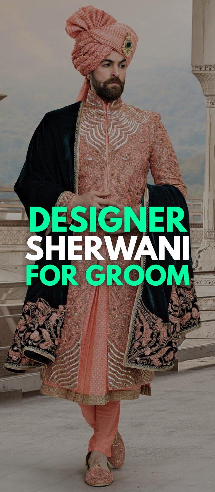 Designer Sherwani Outfit