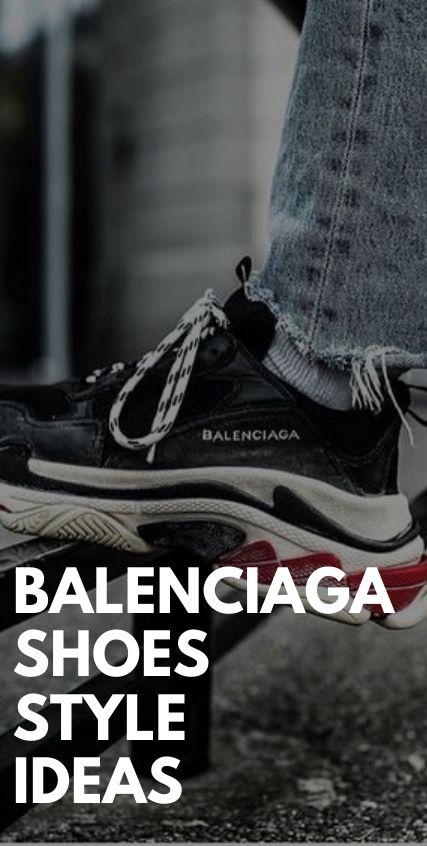 Balenciaga Shoes Style Idea