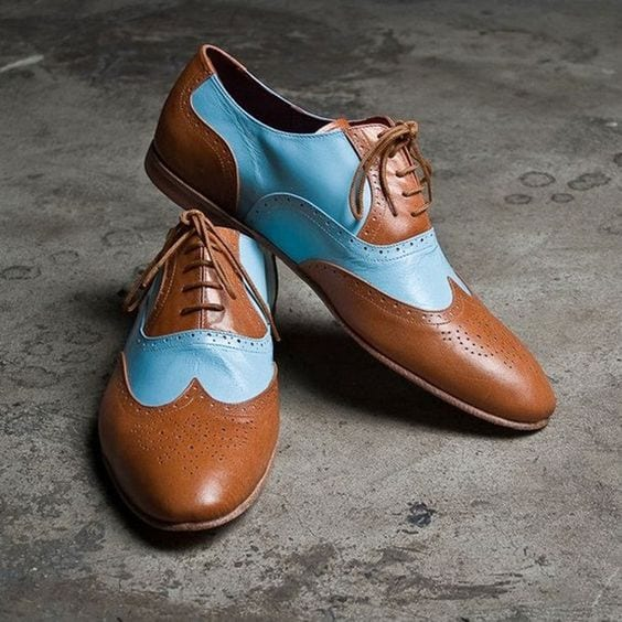 Blue-And-Tan-Brogues-