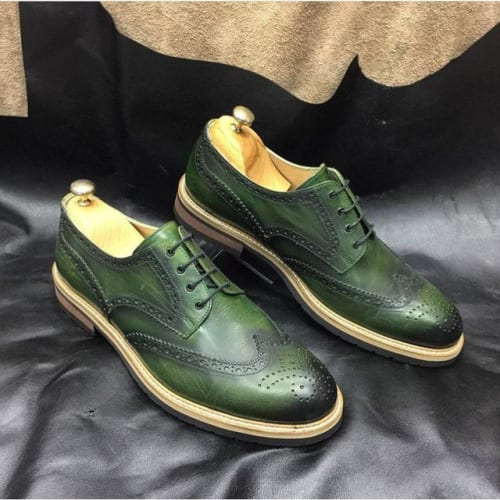 Green-Brogues