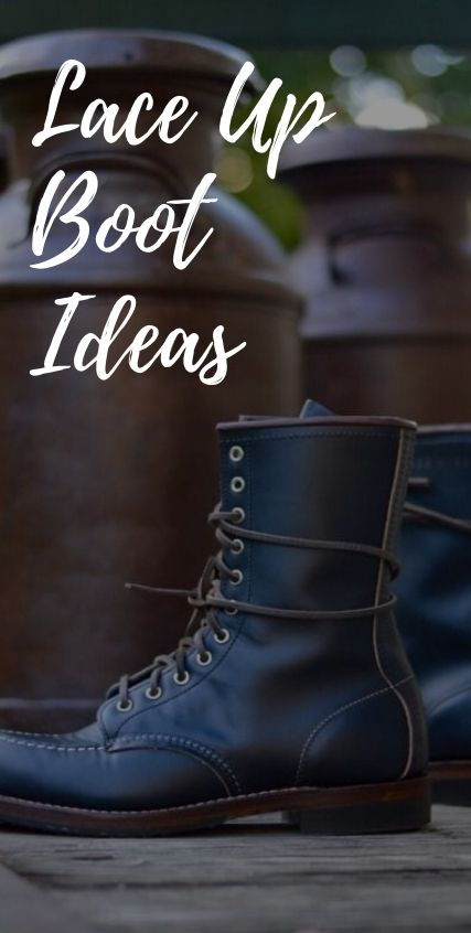 Lace Up Boots Style