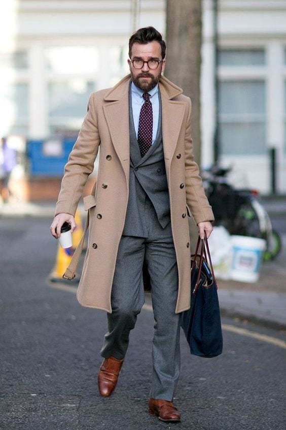 Mens-Camel-Overcoat-with-double-breasted-suit-1