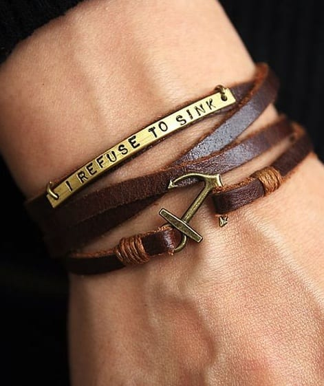 Personalized-Anchor-wrap-Bracelet