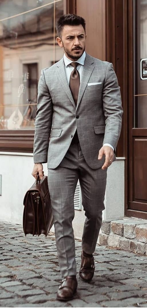 Suit Style with Tie Outfit