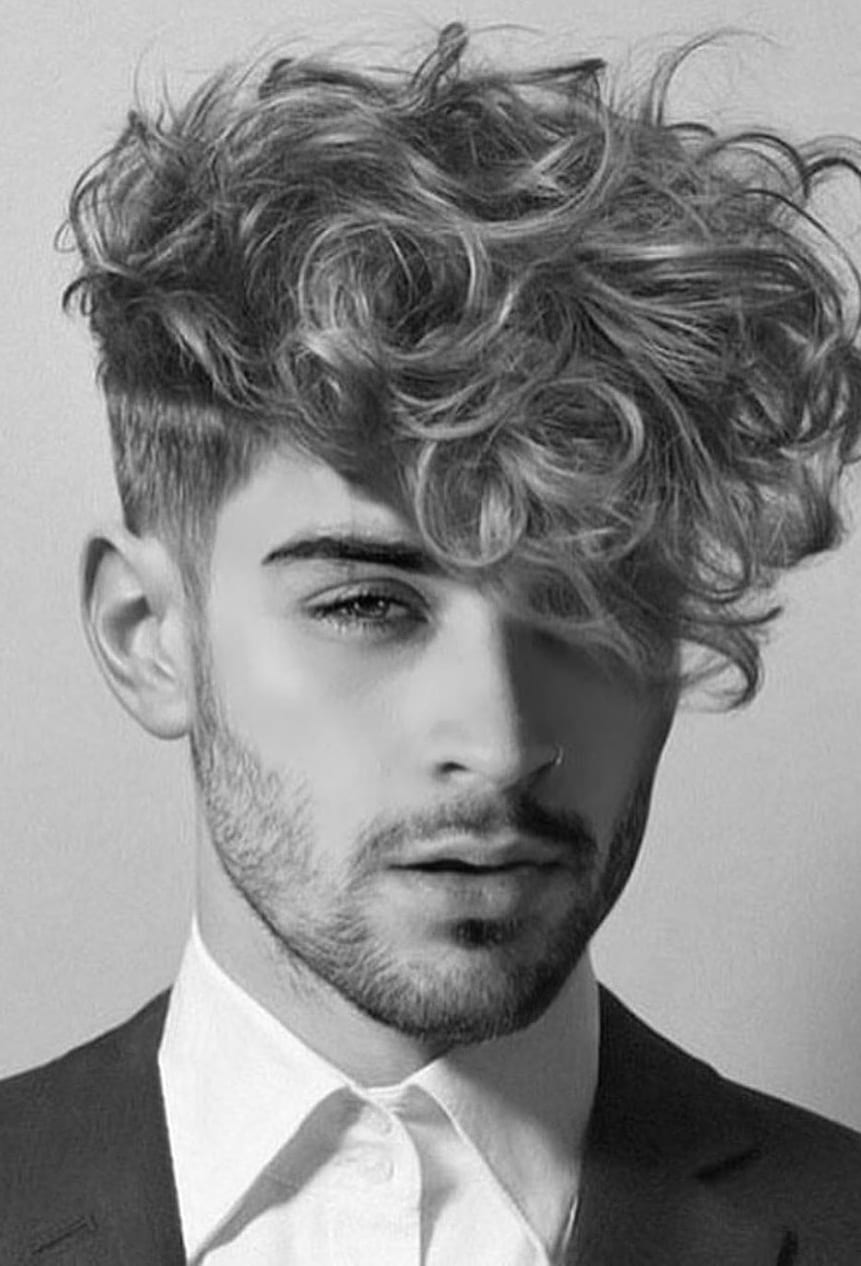 Hottest Curly Hairstyle for Men to slay in 2020