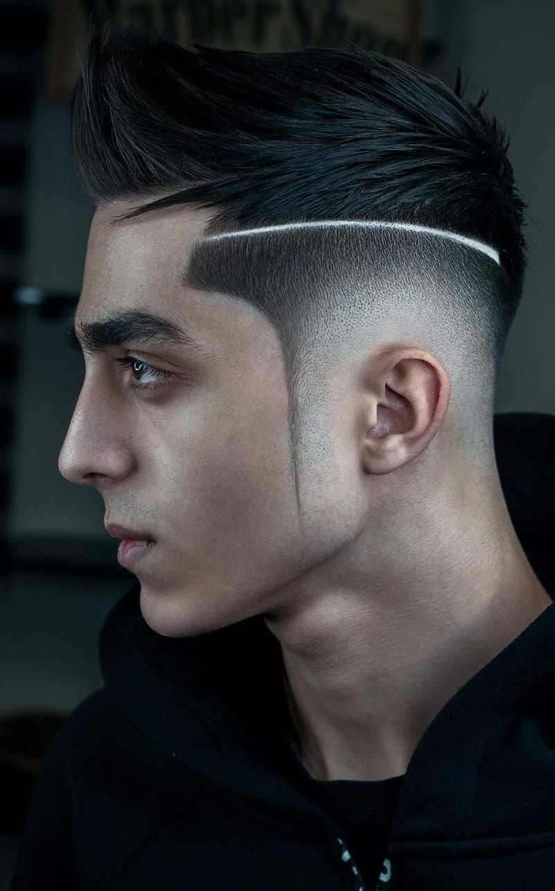 Spiky Fade Haircuts for Men to try in 2020