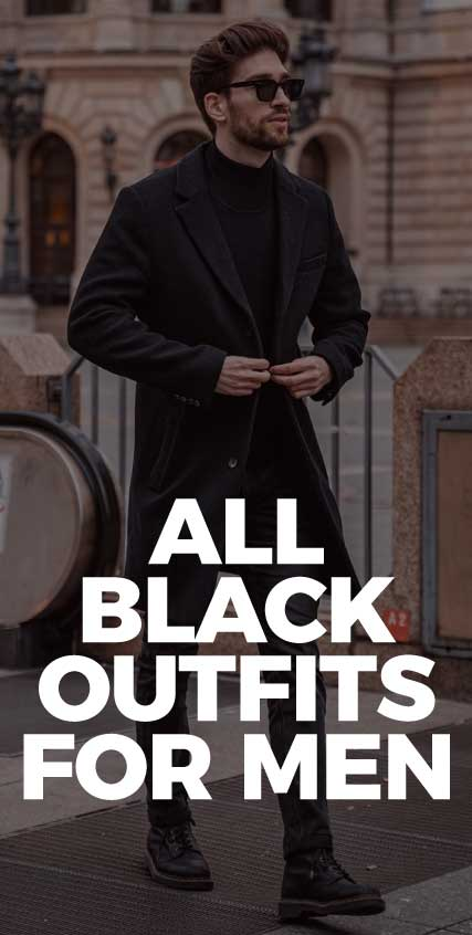 All-Black-Outfits-For-Men-