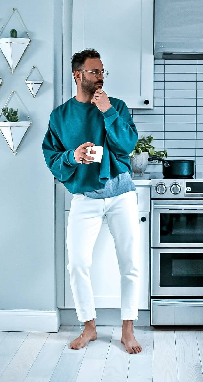 Cozy Pullover- Pants-Loungewear Ideas