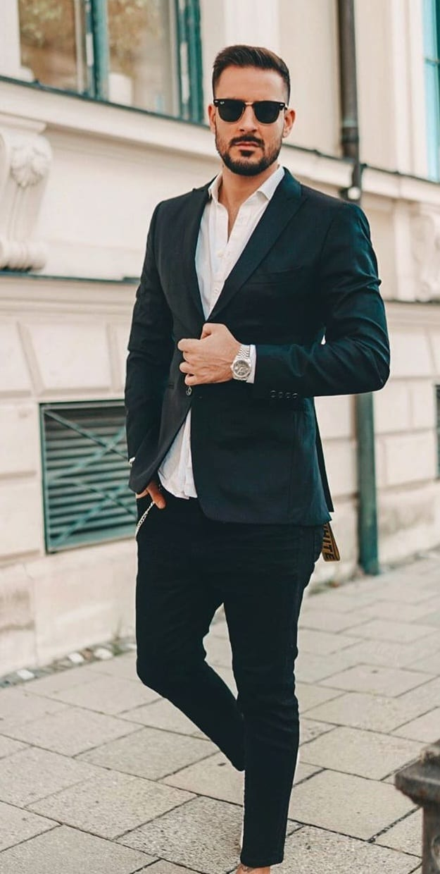 Monochrome Look for Men