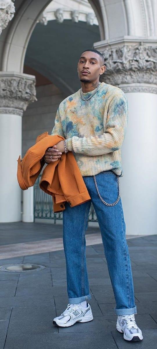 Street Style Ideas-Black Mens Fashion