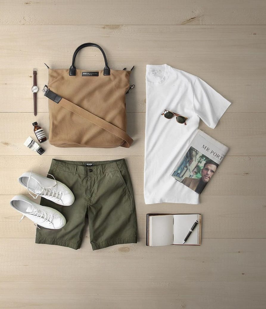 Summer Outfits Grid for Men