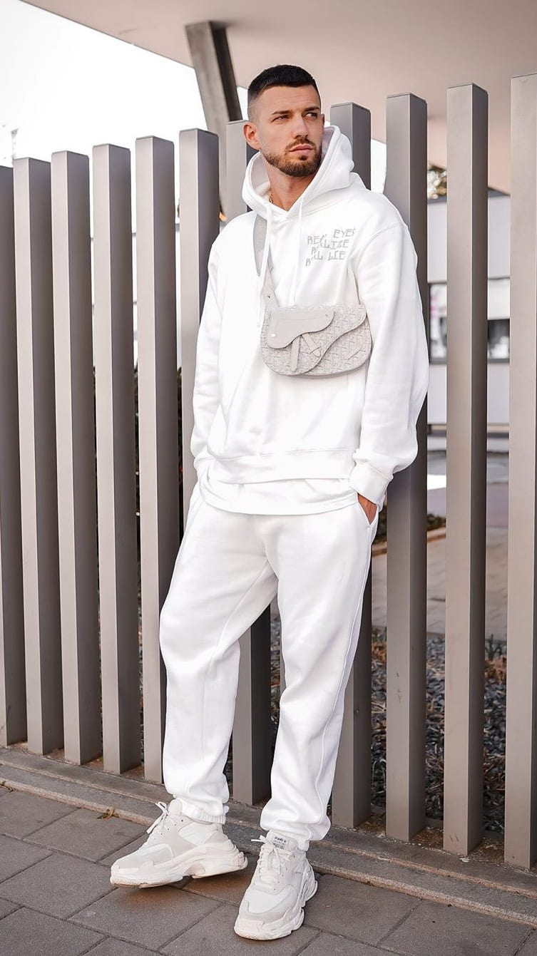 All White Outfit Ideas for Men
