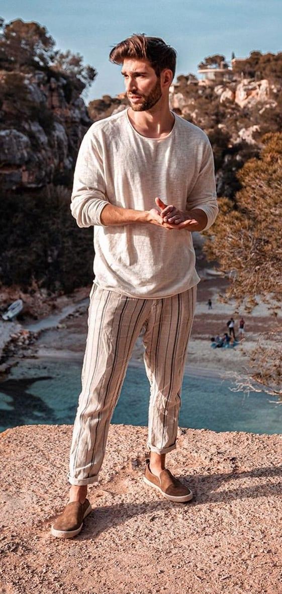 Amazing Linen Outfit Ideas for Men