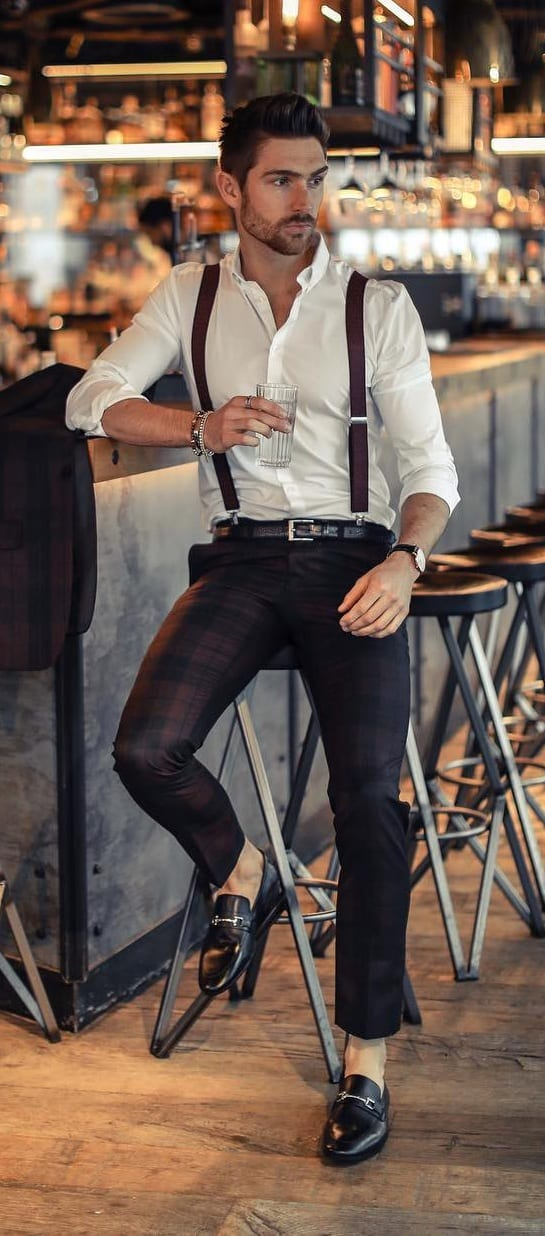 Best Suspender Outfits for Men