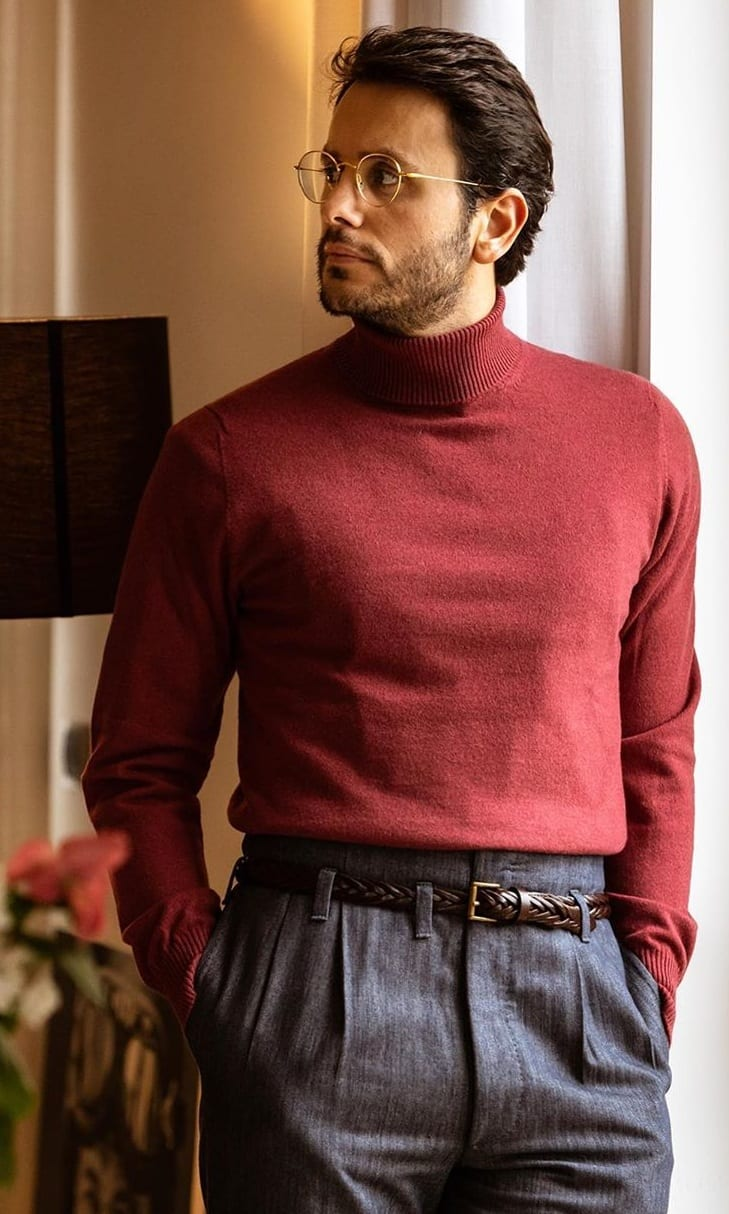 Cashmere Sweater- 25 Essentials You Need In Your Work Wardrobe