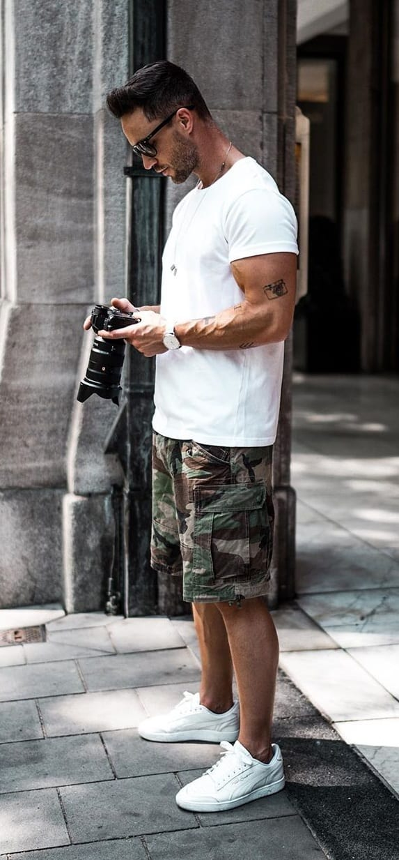 Cool Camouflage Shorts for Men