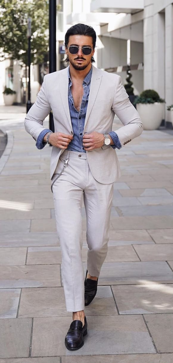 Dope Casual Suit Ideas for Men
