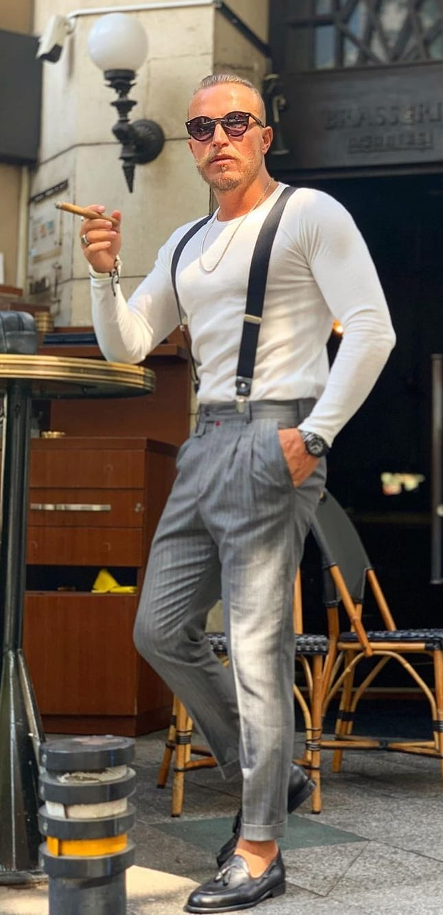 Suspender Outfits for Men