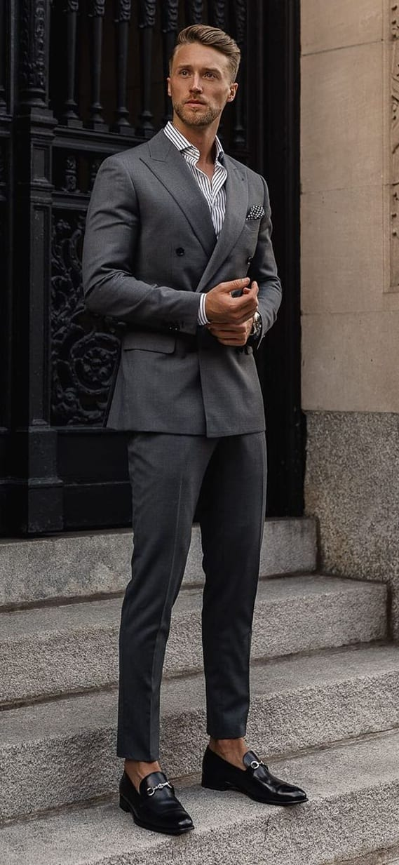 10 Dapper Grey Suits To Fall in Love With