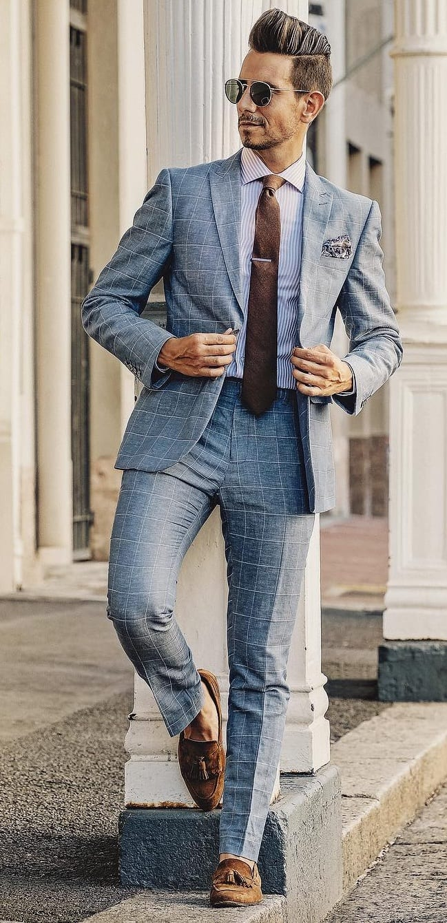 Grey Suits for Men