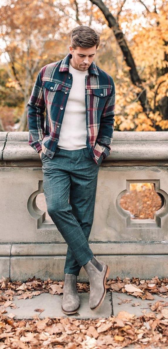 Plaid Jacket Outfit Ideas