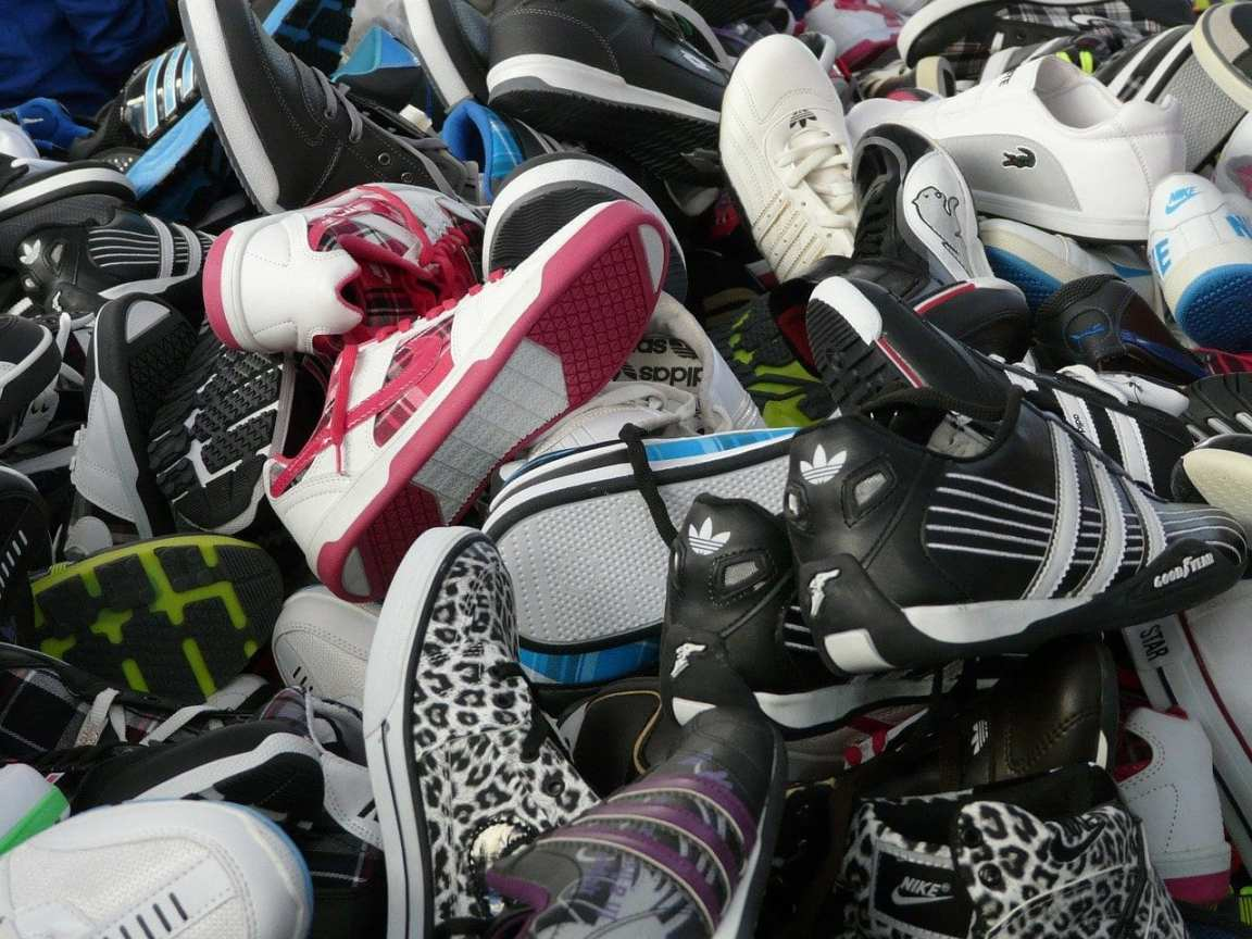shoes stock